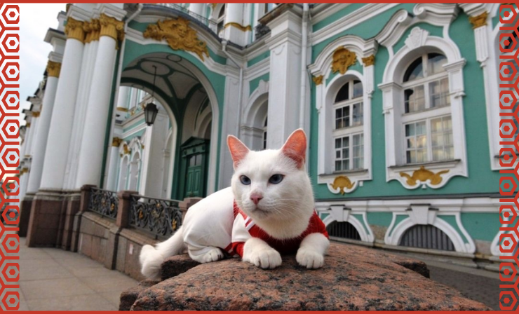 Russian Cats with Jobs