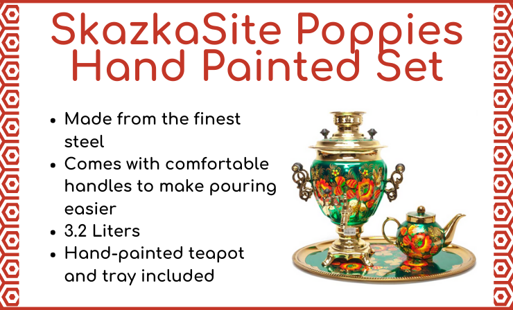 This Samovar Is Completely Ready for Use in the USA