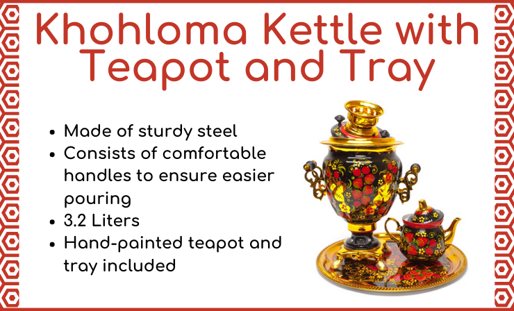 A Samovar Kettle Is the Cornerstone of Every Good Kitchen's Collection of Gadgets