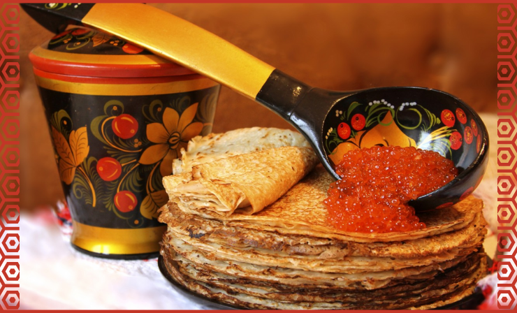 Russians Eat a Lot of Caviar, Especially With Pancakes or Sandwiches