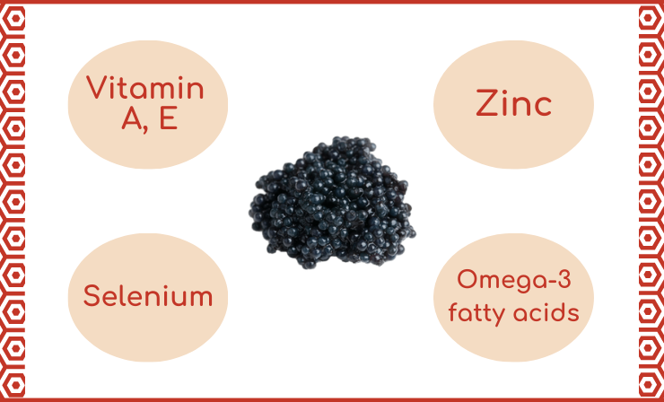 Black Caviar Is Valued for Its Beneficial Properties and Is Therefore Quite Expensive
