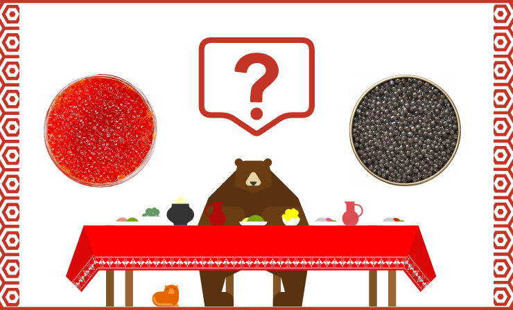 You Can Include Both Red and Black Caviar in Your Diet