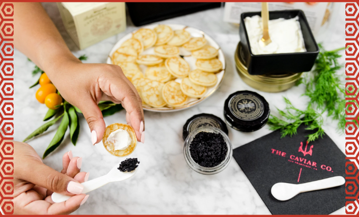 It Is Important to Take the Right Amount of Caviar